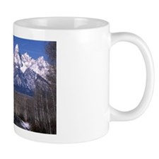 Grand Teton In Late Autumn Mug