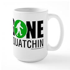 FGD - Gone Squatchin Large Coffee Mug