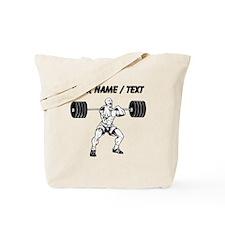 Custom Weightlifter Tote Bag