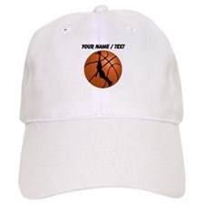 Custom Basketball Dunk Silhouette Baseball Cap