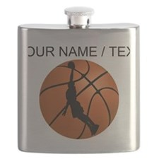 Custom Basketball Dunk Silhouette Flask