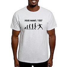 Custom Javelin Throw Evolution T-Shirt