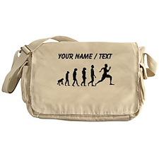 Custom Running Evolution Messenger Bag