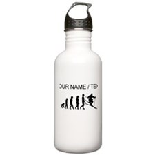 Custom Skiing Evolution Sports Water Bottle
