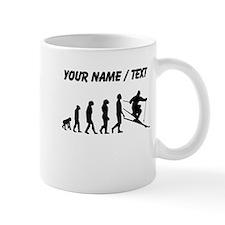 Custom Skiing Evolution Mugs