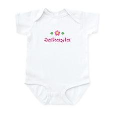 """Pink Daisy - """"Jakayla"""" Infant Bodysuit"""