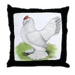 Self Blue Hen Throw Pillow