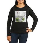 Self Blue Hen Women's Long Sleeve Dark T-Shirt