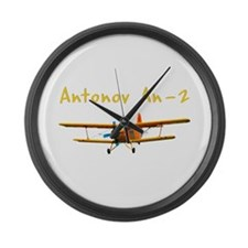 Antonov An-2 Large Wall Clock