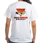 Dykesville Hockey White T-Shirt