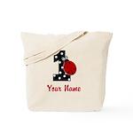 1 Ladybug ANY NAME! Tote Bag