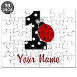 1 Ladybug ANY NAME! Puzzle