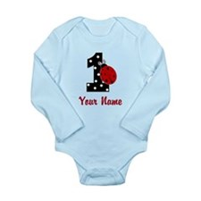 1 Ladybug ANY NAME! Body Suit