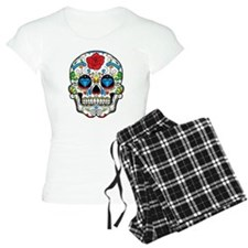 Dark Sugar Skull Pajamas