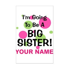 Big Sister - CUSTOMIZE ANY NAME Posters