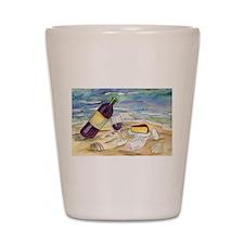 Wine Beach Party Shot Glass
