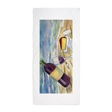 Wine Beach Party Beach Towel