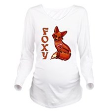 Foxy Long Sleeve Maternity T-Shirt