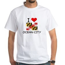 I Love Ocean City Maryland T-Shirt
