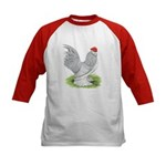 Self Blue Rooster Kids Baseball Jersey