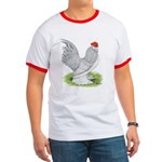 Self Blue Rooster Ringer T