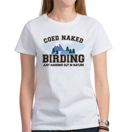 Something Coed naked tee shirts what words