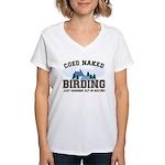 Coed Naked Birding Women's V-Neck T-Shirt