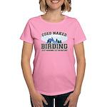 Coed Naked Birding Women's Dark T-Shirt