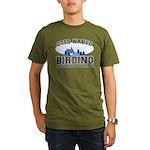 Coed Naked Birding Organic Men's T-Shirt (dark)
