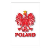 Polish Eagle v6 Postcards (Package of 8)