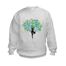 Yoga Tree Pose New Sweatshirt