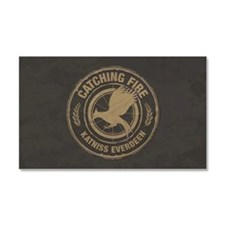 Catching Fire Katniss Everdeen Car Magnet 20 x 12