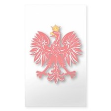 Polish Eagle v10 Rectangle Decal