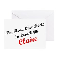 In Love with Claire Greeting Cards (Pk of 10)