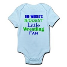 Biggest Little Wrestling Fan Body Suit