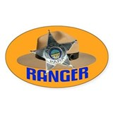 Ranger on Patrol Oval Decal