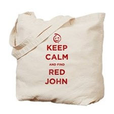 Keep Calm Red John The Mentalist Tote Bag
