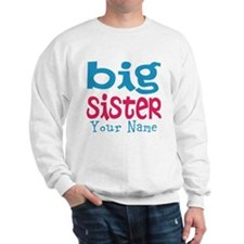 Personalized Big Sister Sweatshirt
