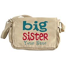 Personalized Big Sister Messenger Bag