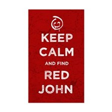 Keep Calm Red John The Mentalist Decal