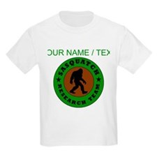 Custom Sasquatch Research Team T-Shirt