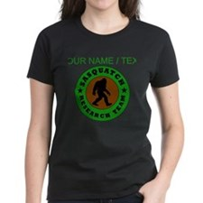 Custom Sasquatch Research Team T-Shirt