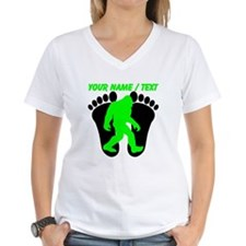 Custom Bigfoot Footprint T-Shirt