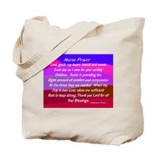 Nurse Prayer Blanket 3 Tote Bag