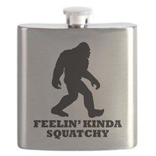 Feelin Kinda Squatchy Flask