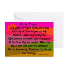 Nurse Prayer Blanket 2 Greeting Cards
