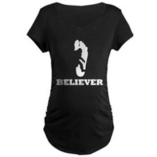Bigfoot Believer Maternity T-Shirt