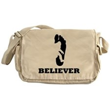 Bigfoot Believer Messenger Bag