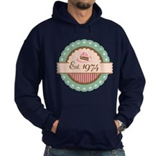1974 Birth Year Birthday Hoodie