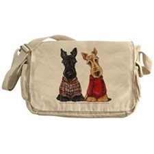 Sweater Scotties Messenger Bag